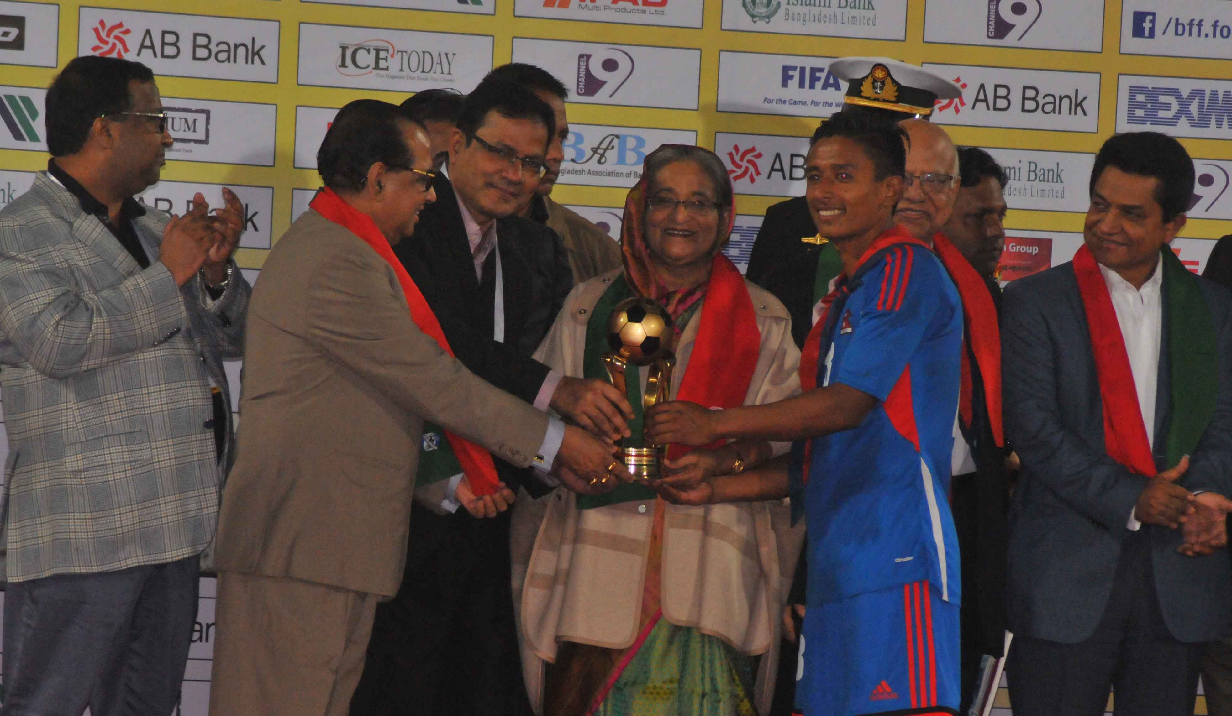 Nepal(Blue)  Vs  Bahrain(Red)Final Match 6