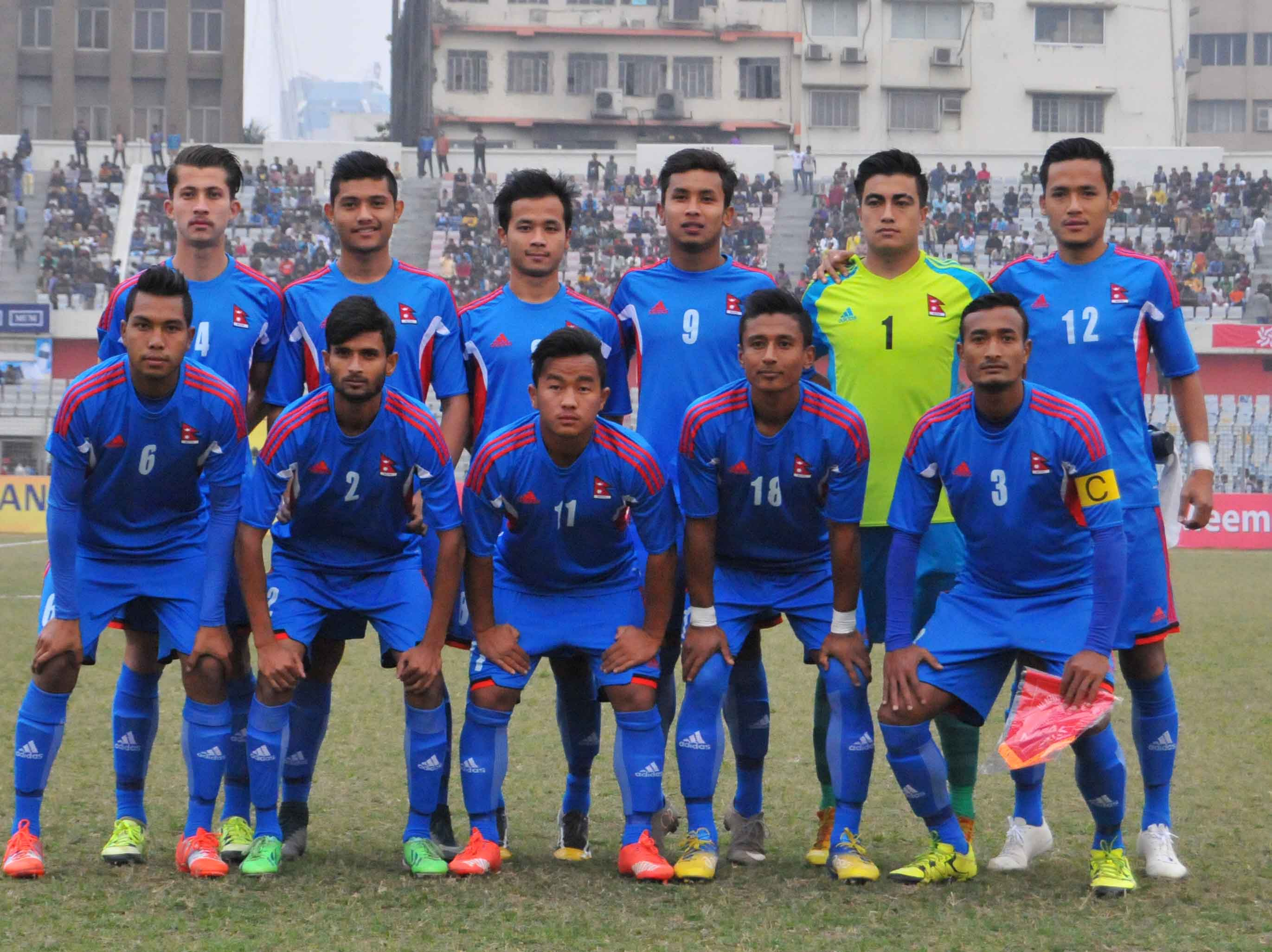 Nepal(Blue)  Vs  Bahrain(Red)Final Match c