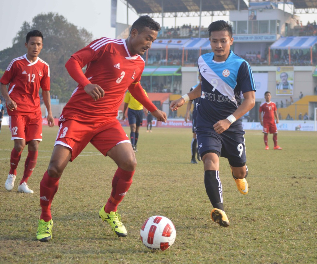 Nepal(red)  Vs  Malaysia(Blue) 3a