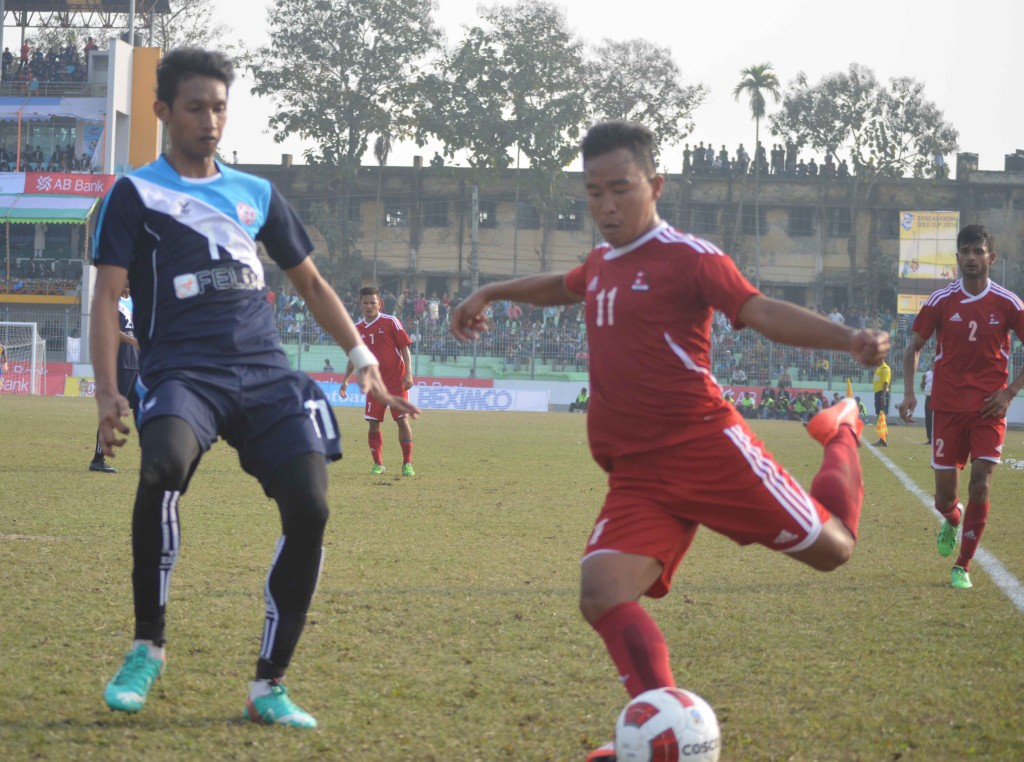 Nepal(red)  Vs  Malaysia(Blue) 5a
