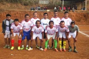 panchthar journalists football