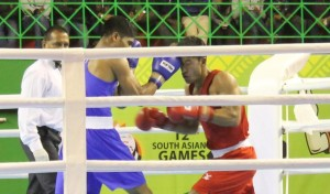boxing grabs medal