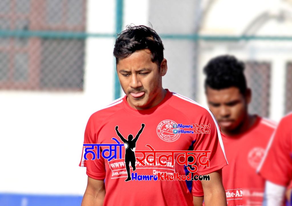 Anil Gurung not named in Nepal national Football Team vs Malaysia U22