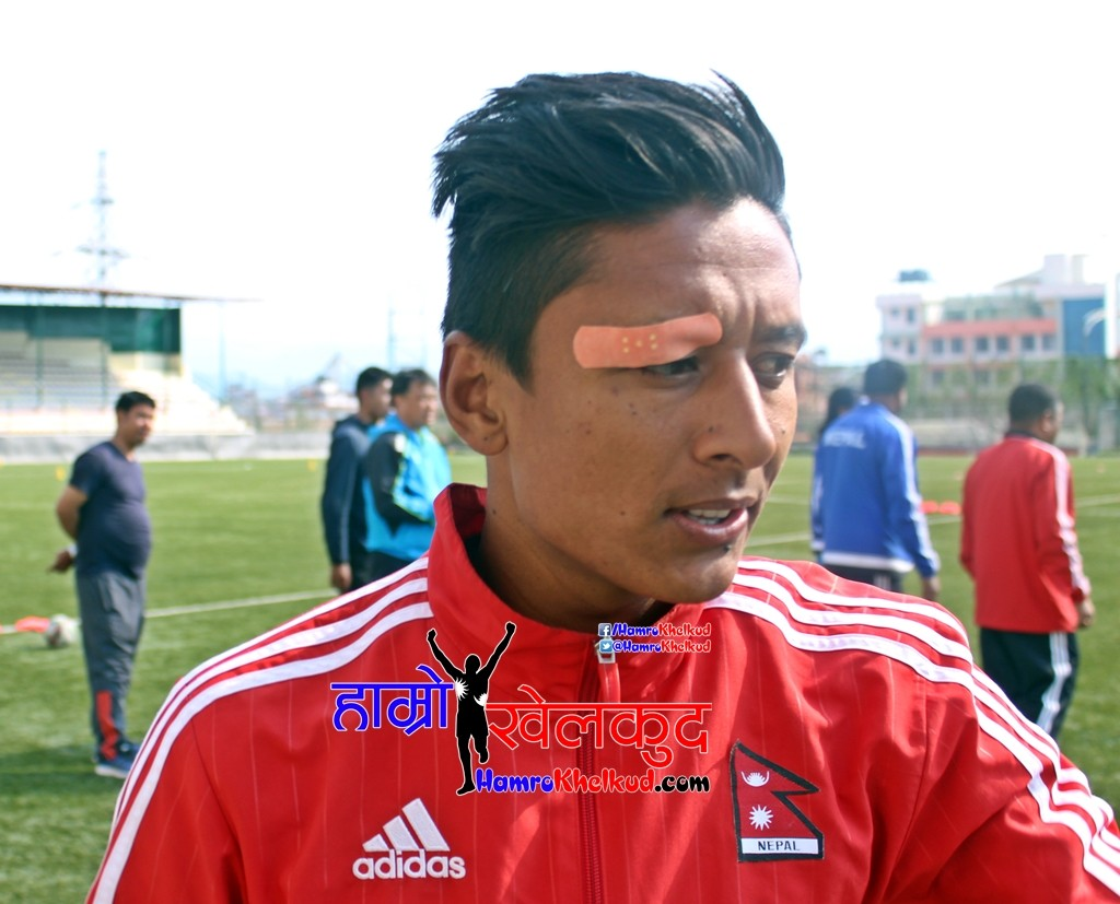Nawayug Shrestha Injured Nepal Malaysia Frinedly