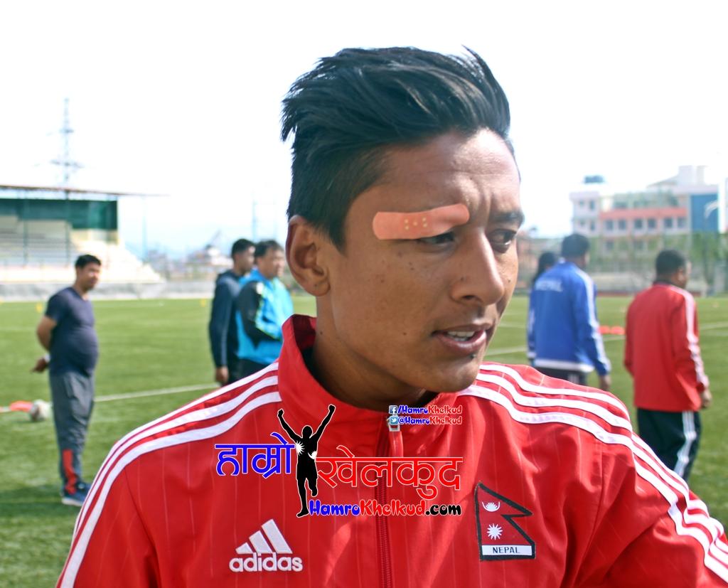 Nawayug Shrestha Injured Nepal Malaysia Frinedly