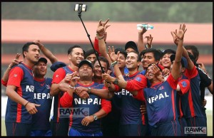 cricket team raw kc