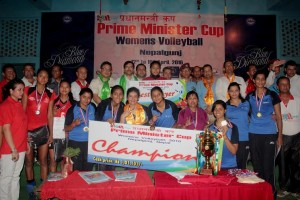 indian railway wins primeminister volleyball