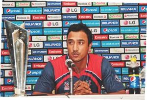 paras khadka after match