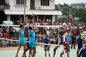 volley ball nepal