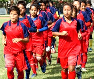 womens football nepal