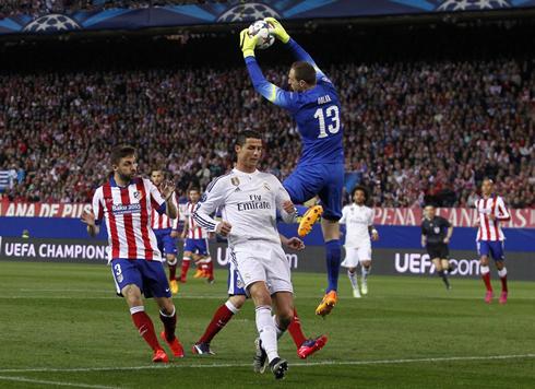 Atletico Madrid Keeper Obla