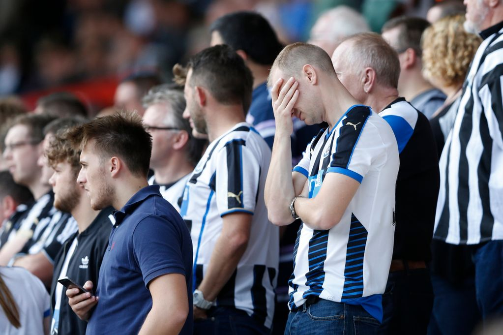 Newcastle Relegated