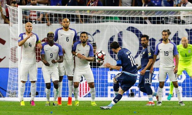Argentina messi Usa copa final