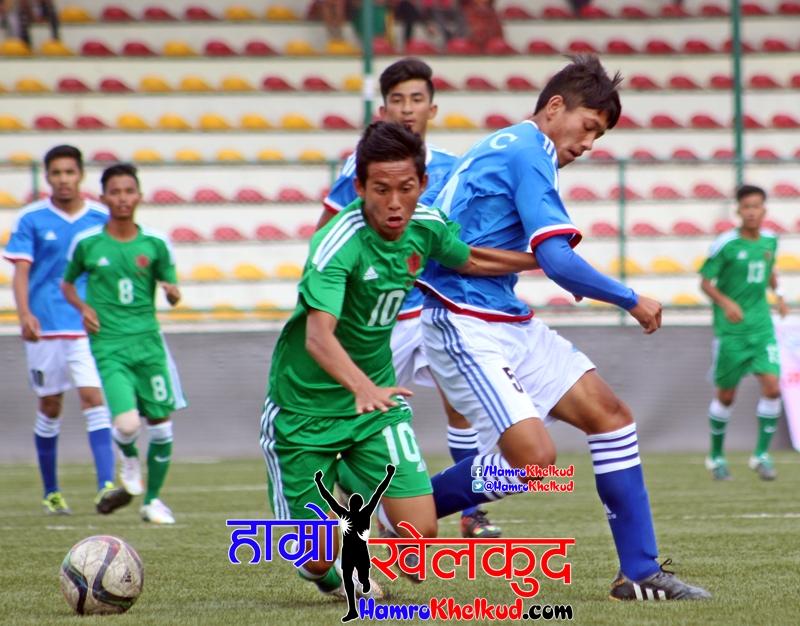 Army (Green) vs Jawalkhel (Blue) (2)