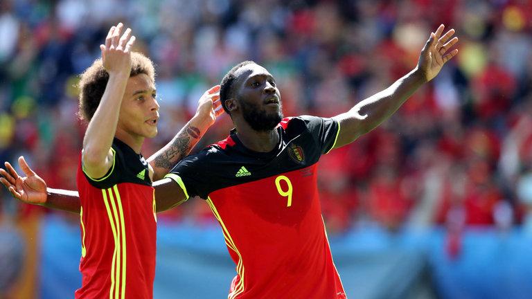 Belgium Lukaku Witsel Ireland