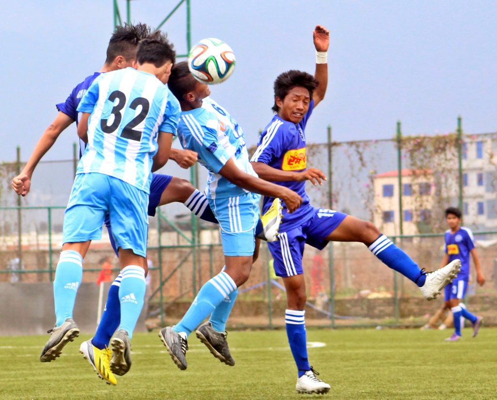 Jhapa(BLue) vs MMC (SkyBlue and WHite)