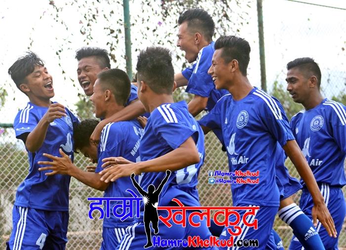 Morang (Blue) vs Saraswati (WHite) (1)