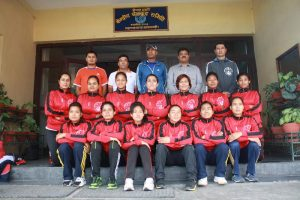 Nepal police volleyball team