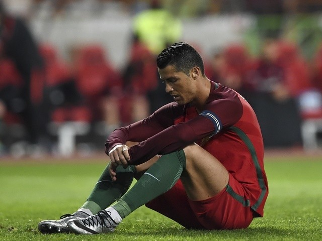Cristiano Ronaldo Sad Portugal