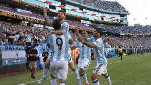 argentina messI celebrate