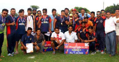 madan aasrit cricket winner Police Club