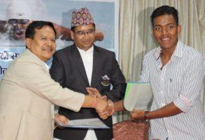 Siris Gurung brand ambessador