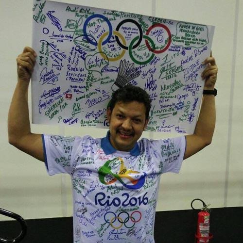दिपक ओलम्पिक खेलको फाइनलमा लाईन जज
