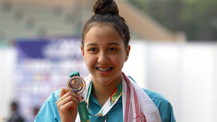 ओलम्पियन गौरिकाको थप तीन राष्ट्रिय कीर्तिमान