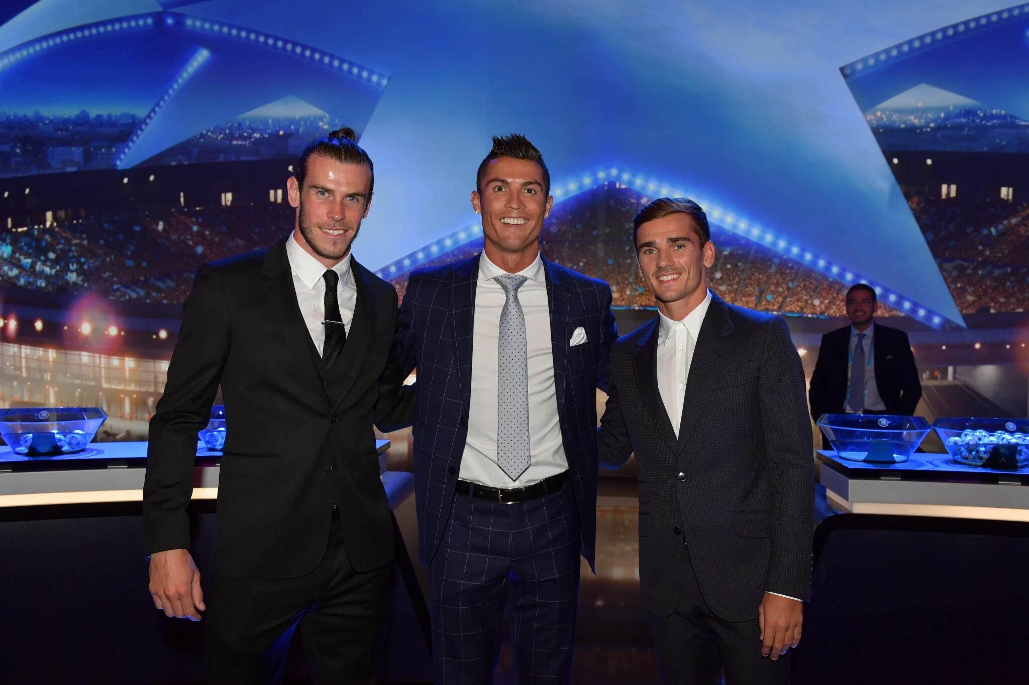 Ronaldo griezmann bale
