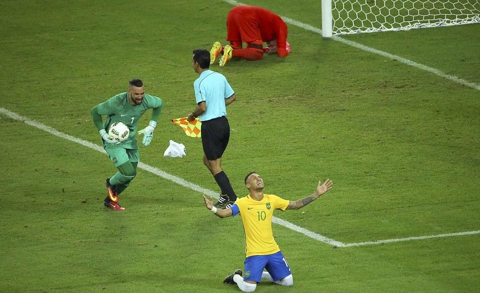Neymar Brazil Germany Olympic Gold
