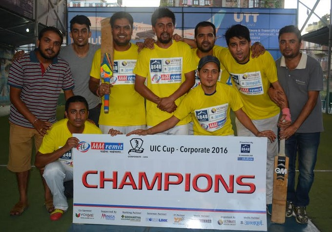 Verisk Ultimate Indoor Cricket Champion