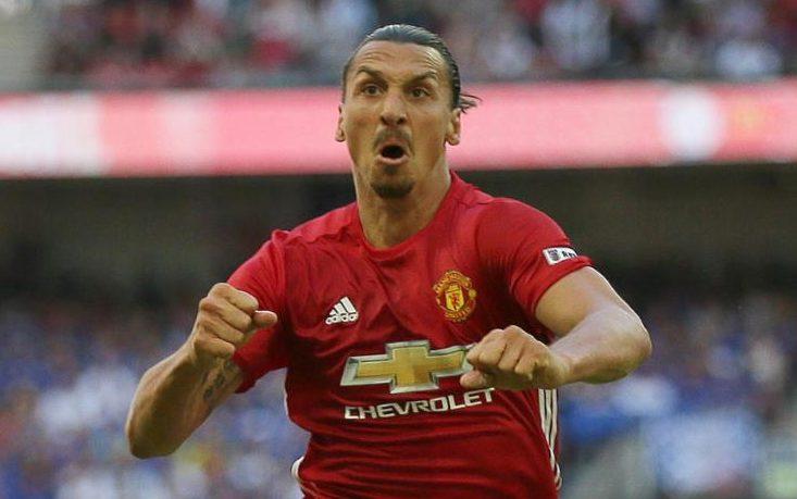 Zlatan scores winner against Leicester in Community Shield