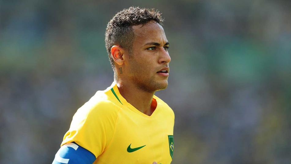 neymar captain Olympics