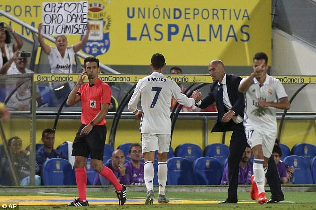 Ronaldo Substituted