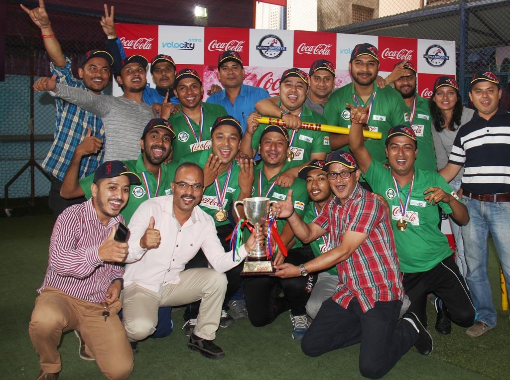 गोर्खा ब्रुअरी इन्डोर कर्पोरेट क्रिकेट च्याम्पियन