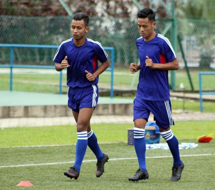 Anjan Bista and Bikram Lama