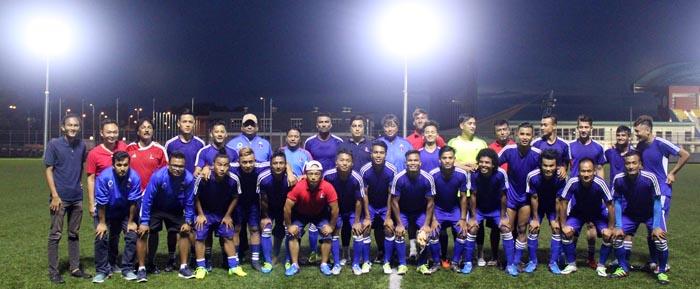 Nepali Football Training