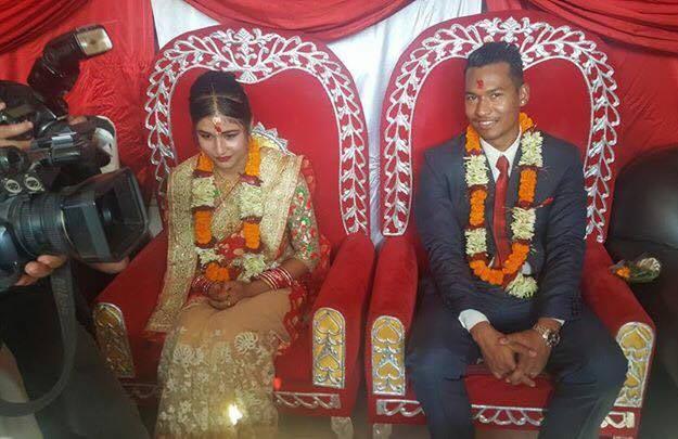असिम र सोनिरा विवाह बन्धनमा बाँधिने