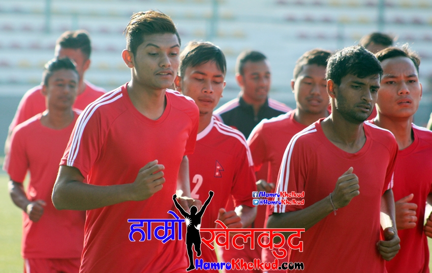 National Team training