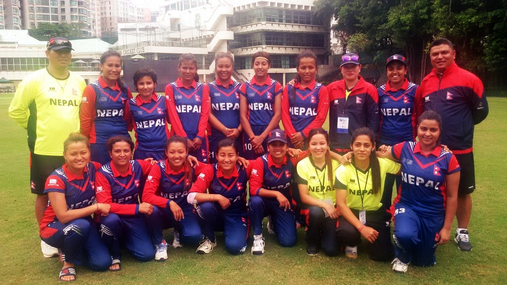 nepal-womens-team-cricket