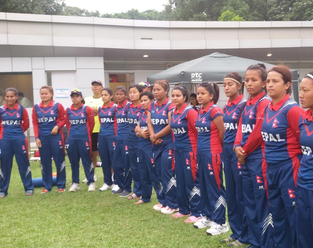 Nepal Cricket Women HongKong
