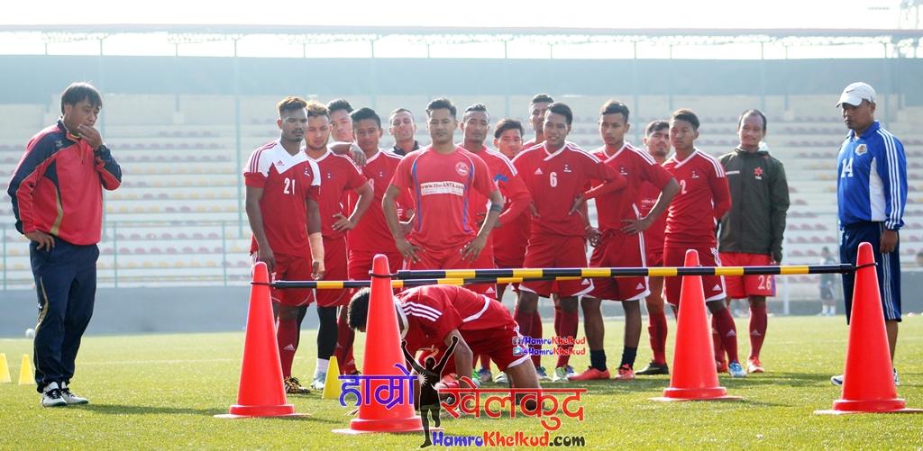 नेपाली राष्ट्रिय टोलीको तयारी तीव्र गतिमा