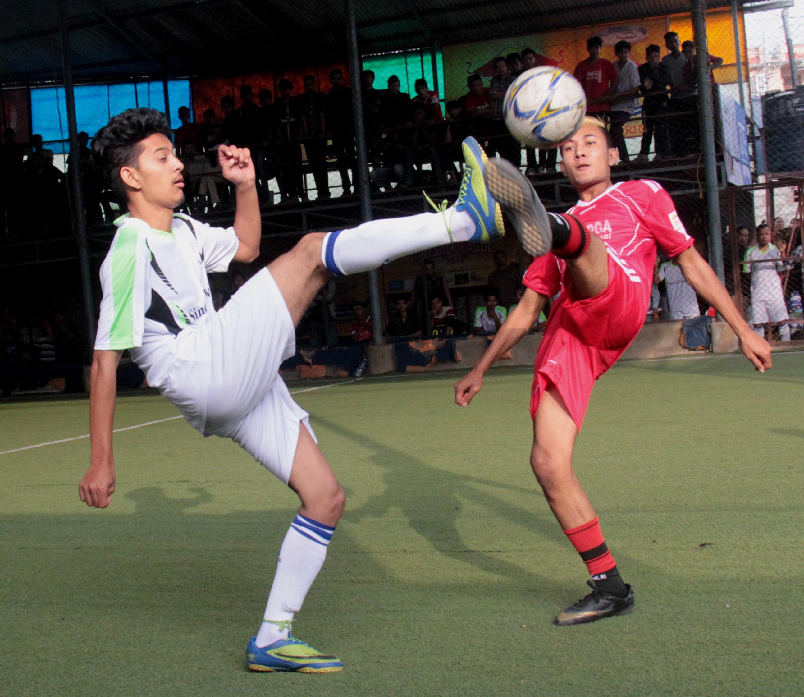 रेडबुल राष्ट्रिय फुटसल लिगमा कुमारी र ह्वाइट हर्स विजयी