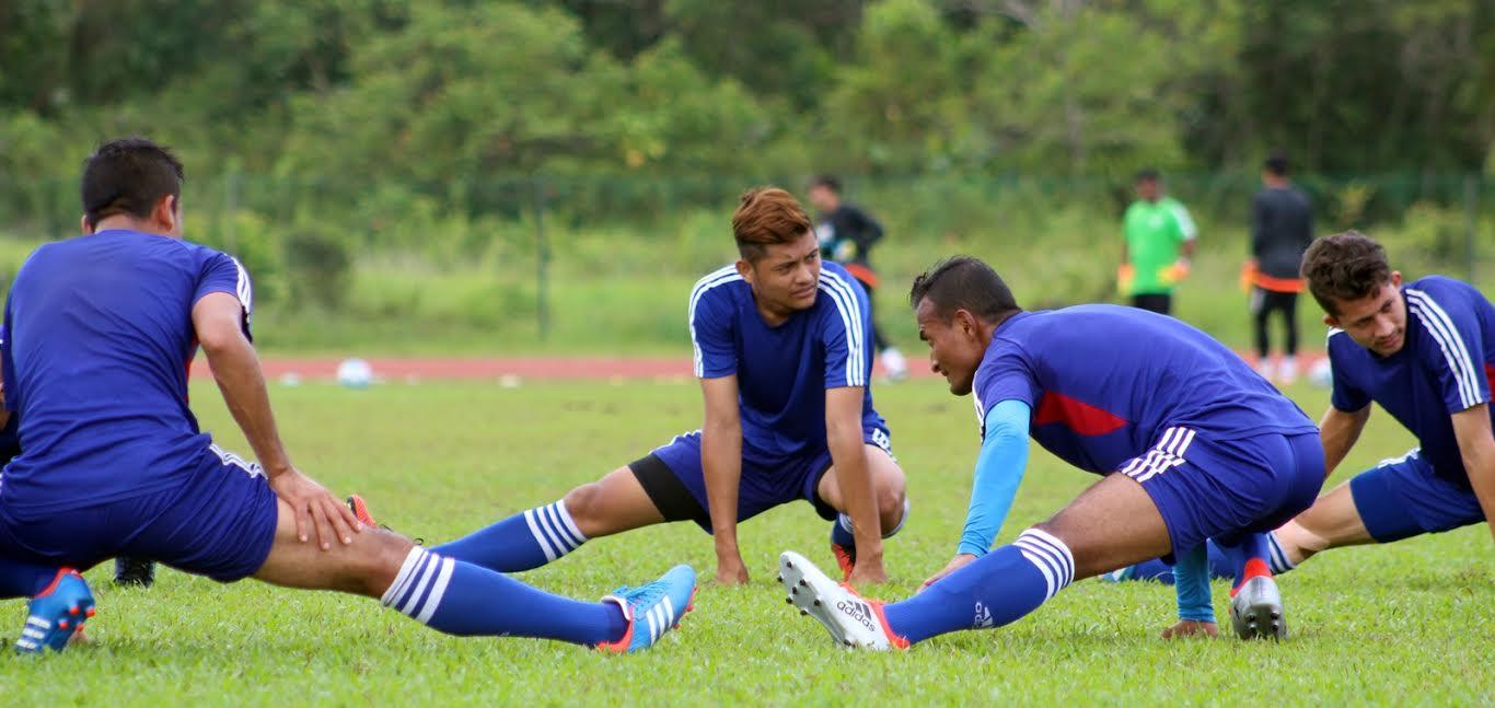 Nepal Football TTraining