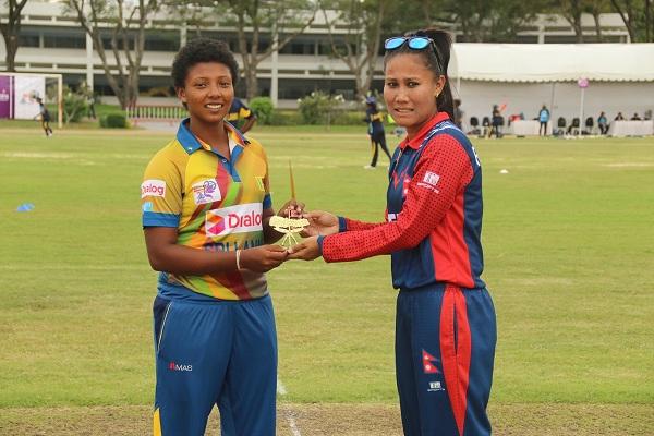 Captains exchanging souvenir
