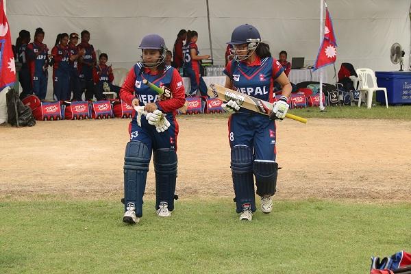 Nepali opening batswomen