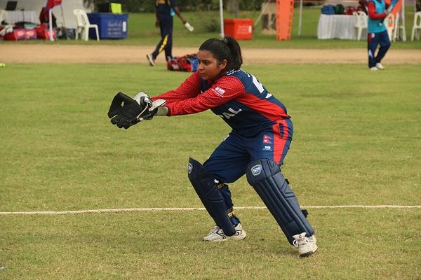 wicket keeper Pandey