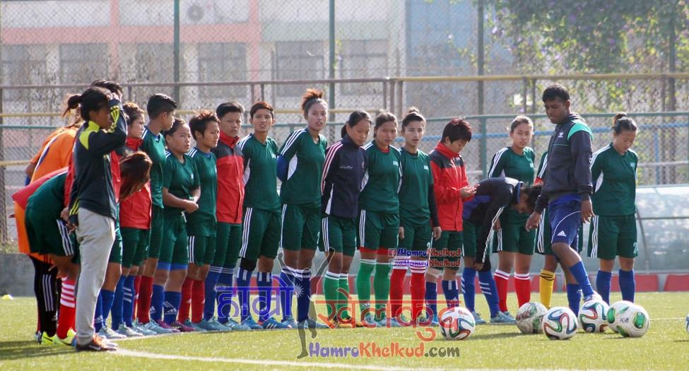 Kumar Thapa Nepal Women National team