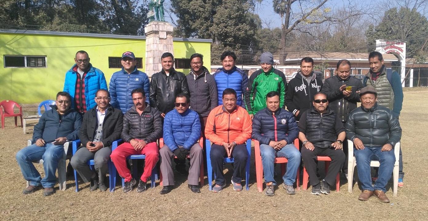 फुटबल क्लब समिति गठन, केसी तदर्थ समिति संयोजक