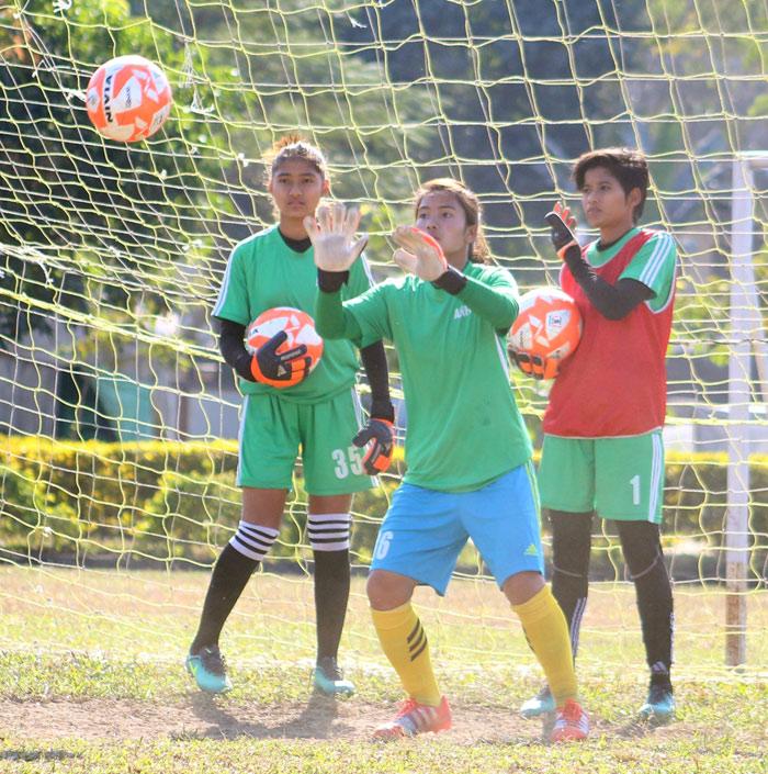goalkeeper nepali women